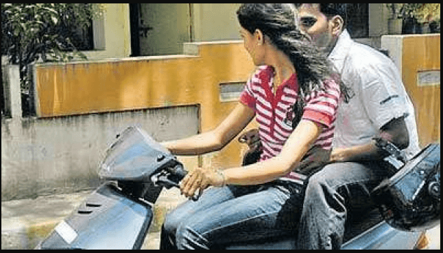 People bothered by heat ready to be fined, but not to wear Helmet