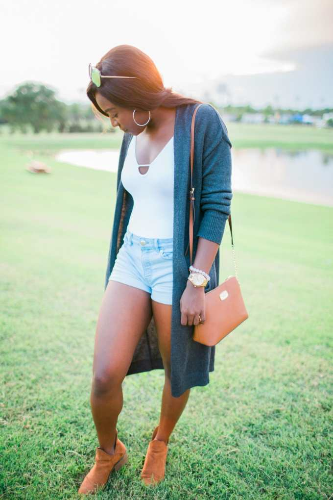 Golden hour + easy fall transitional style