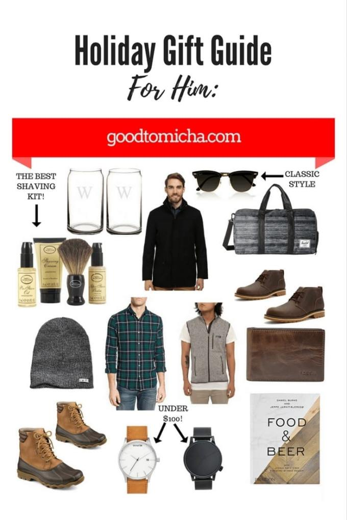 Over 15+ Gift Ideas for Men under $150! | GoodTomiCha Southern Fashion and Lifestyle Blog