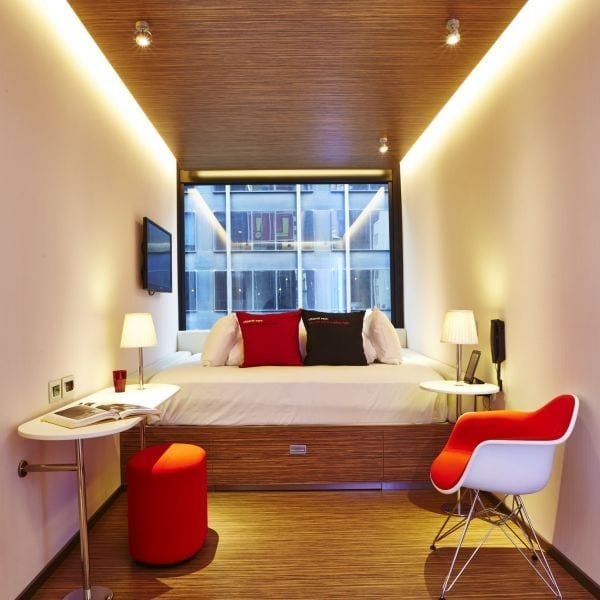 Best boutique hotels in new york city citizen m for Modern boutique hotel