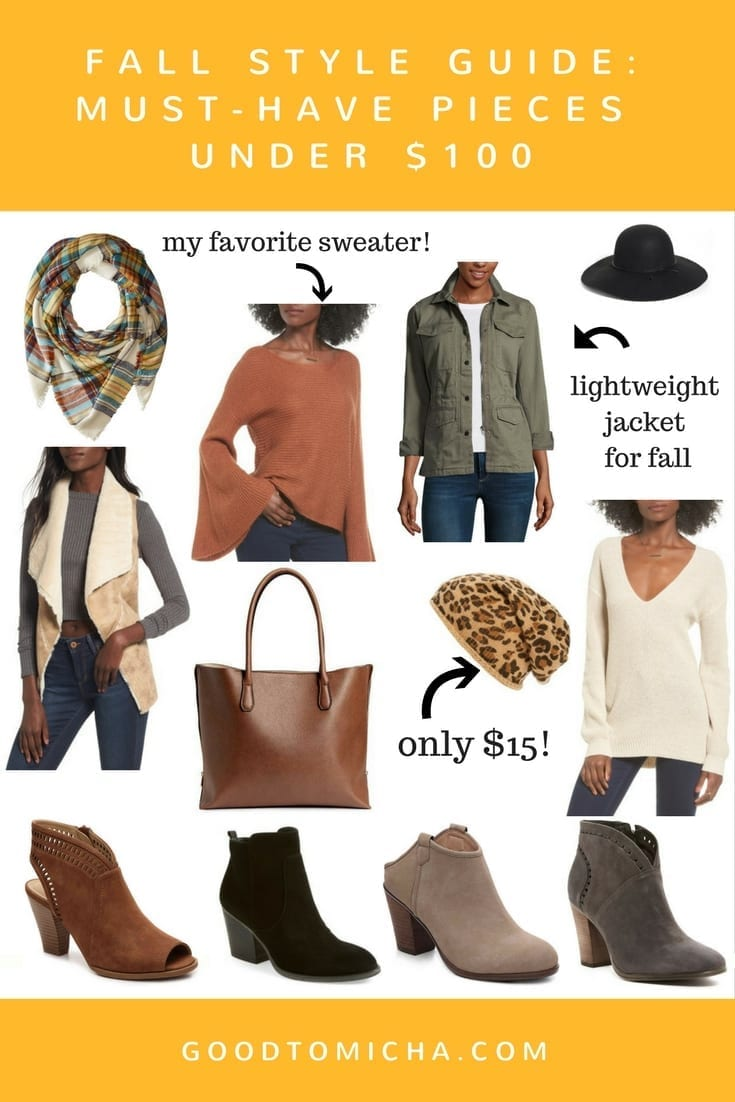 Fall Style Guide Best Fashion For Fall Under 100goodtomicha