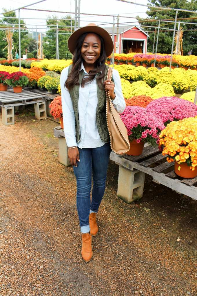 Southern fashion blogger GoodTomiCha with the best fall finds under $100!