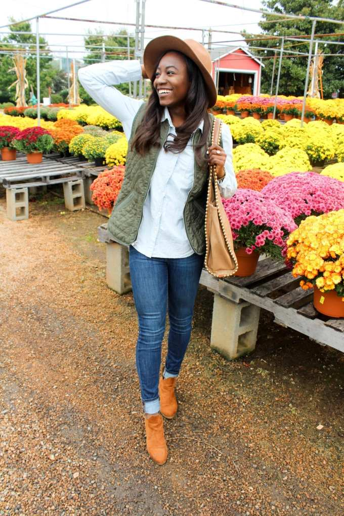 Southern fashion blogger GoodTomiCha sharing the best fall style essentials under $100 on the blog!