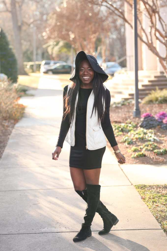 South Carolina based blogger, GoodTomiCha, shares her tips for finding the perfect little black dress. This LBD with sleeves comes in multiple colors and it's under $50. Head to the blog for more info!