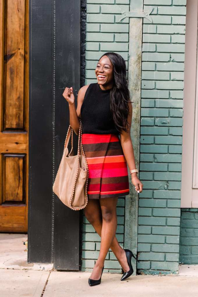 Black fashion blogger, Tomi Obebe, shares her favorite places to shop for affordable workwear on the blog. Based out of Greenville, South Carolina, the fashion and lifestyle blogger focuses on trendy business pieces that are perfect for young professionals.