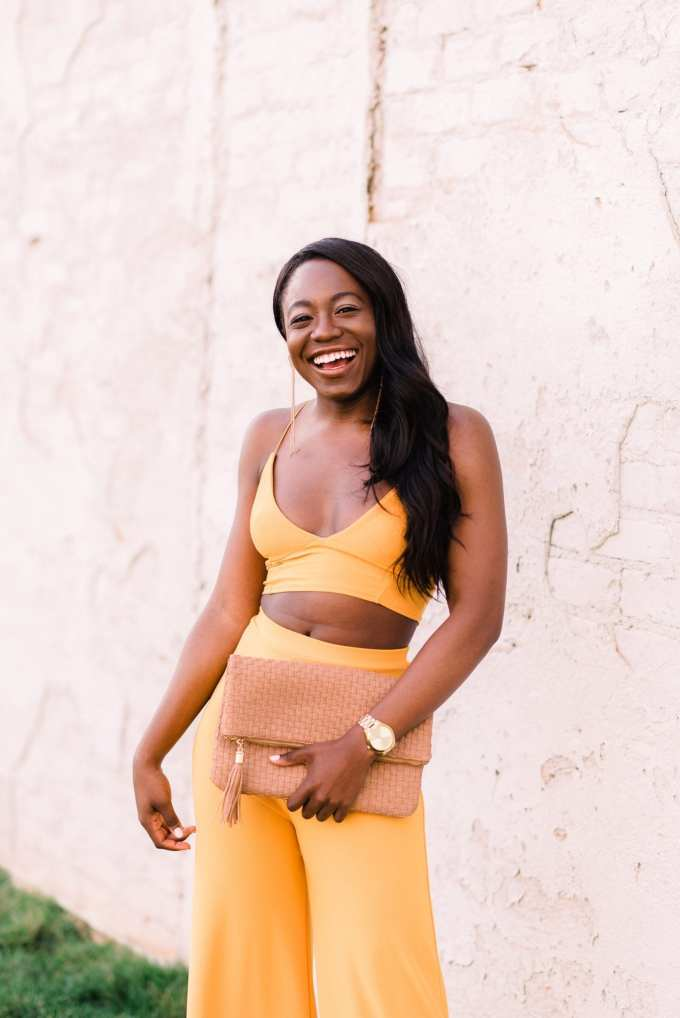Black fashion blogger GoodTomiCha shares her favorite two-piece sets for spring on the blog!