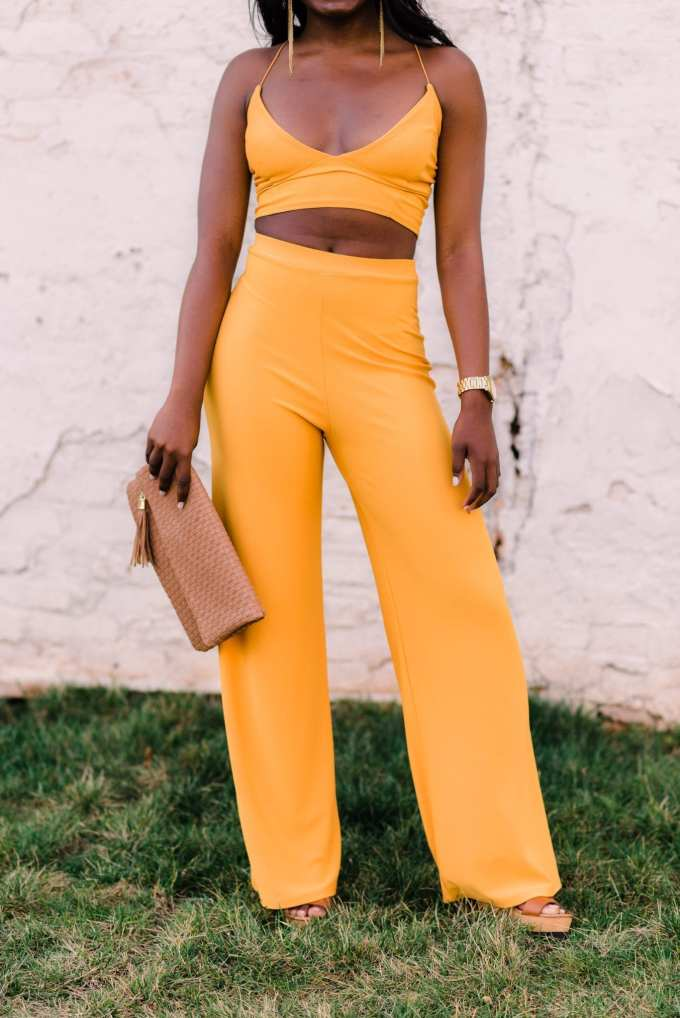Greenville, South Carolina fashion blogger | GoodTomiCha | Two-piece sets | spring style | spring fashion | Boohoo