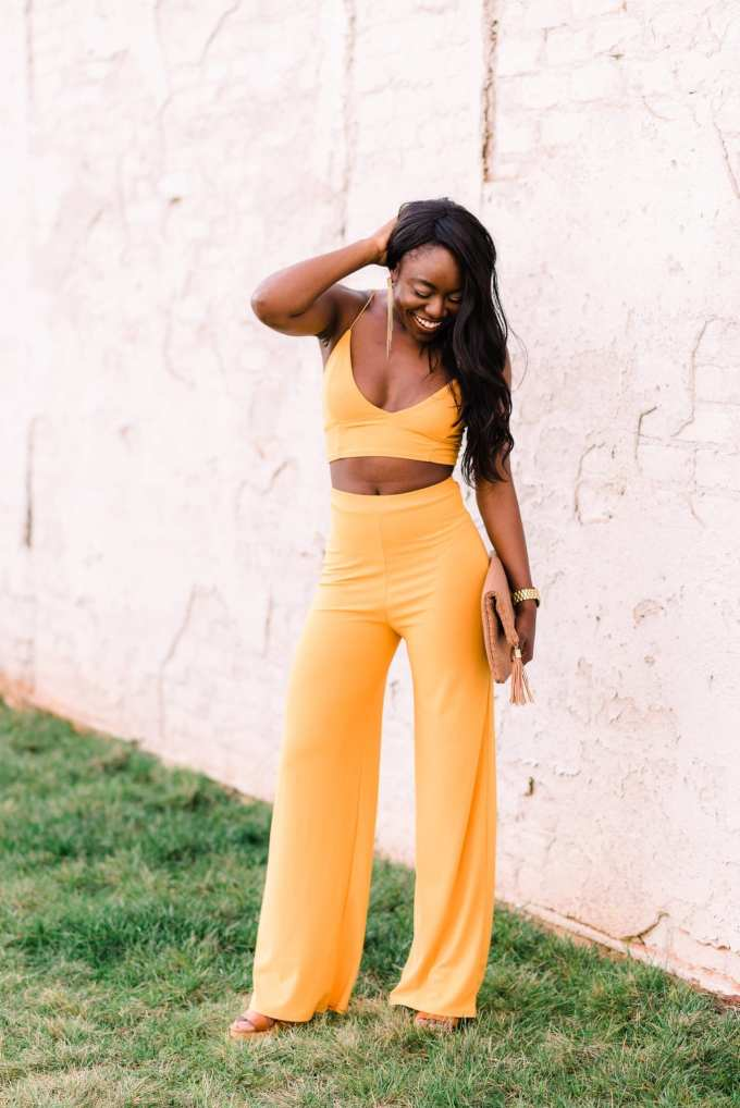 Looking for a gorgeous two-piece set? Southern fashion blogger, GoodTomiCha, shares her top picks on the blog!