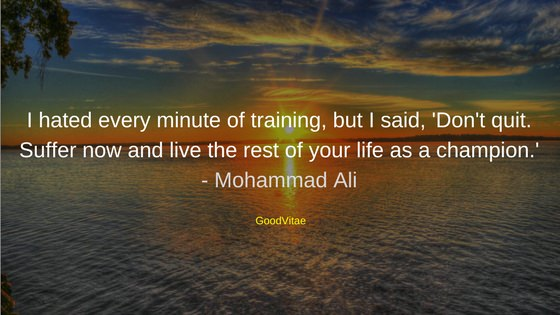 Mohammad Ali Motivational Quote for Students