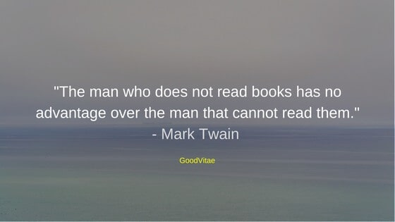 Mark Twain Motivational Quote for Students