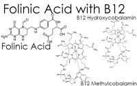 Folinic acid with b12