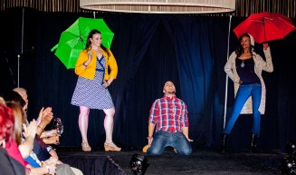 It's raining men! Photo by ErrolE Photography