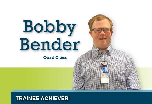 BOBBY BENDER Trainee Achiever of the Year