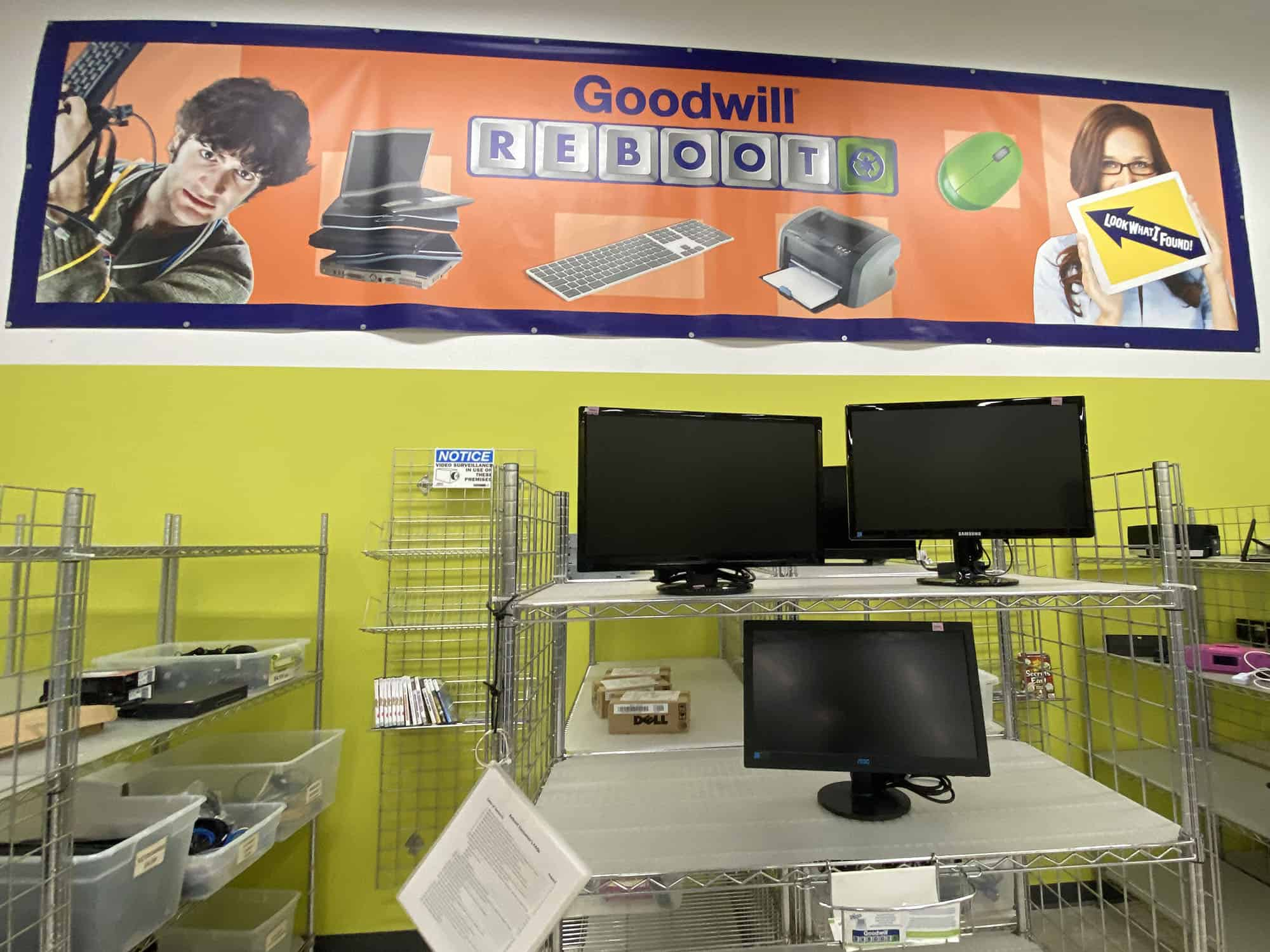 A view of Goodwill Reboot in the Iowa City store.