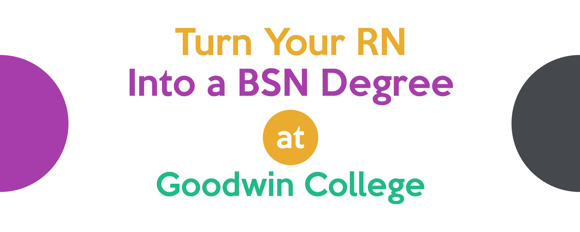 turn your RN into a BSN Degree