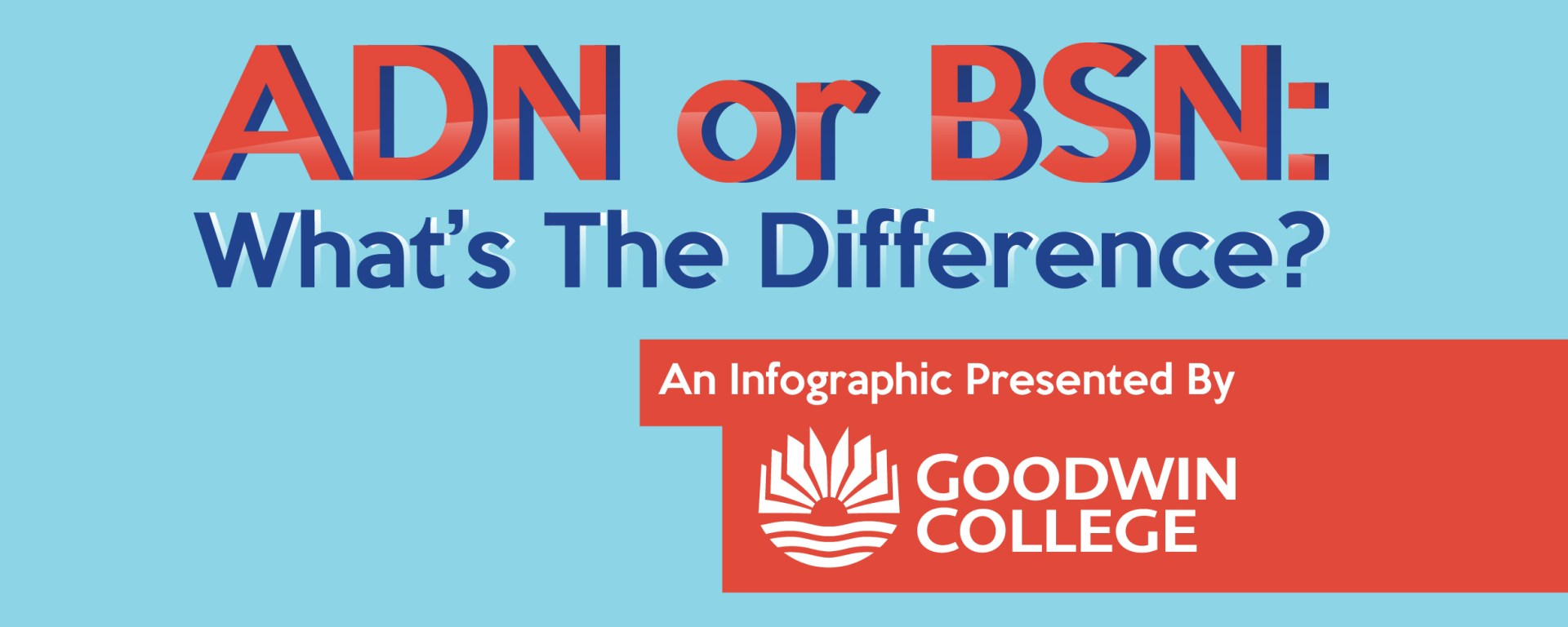 Adn Vs Bsn Infographic Goodwin College
