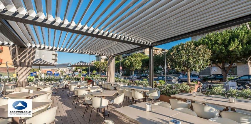 commercial patio covers pergola
