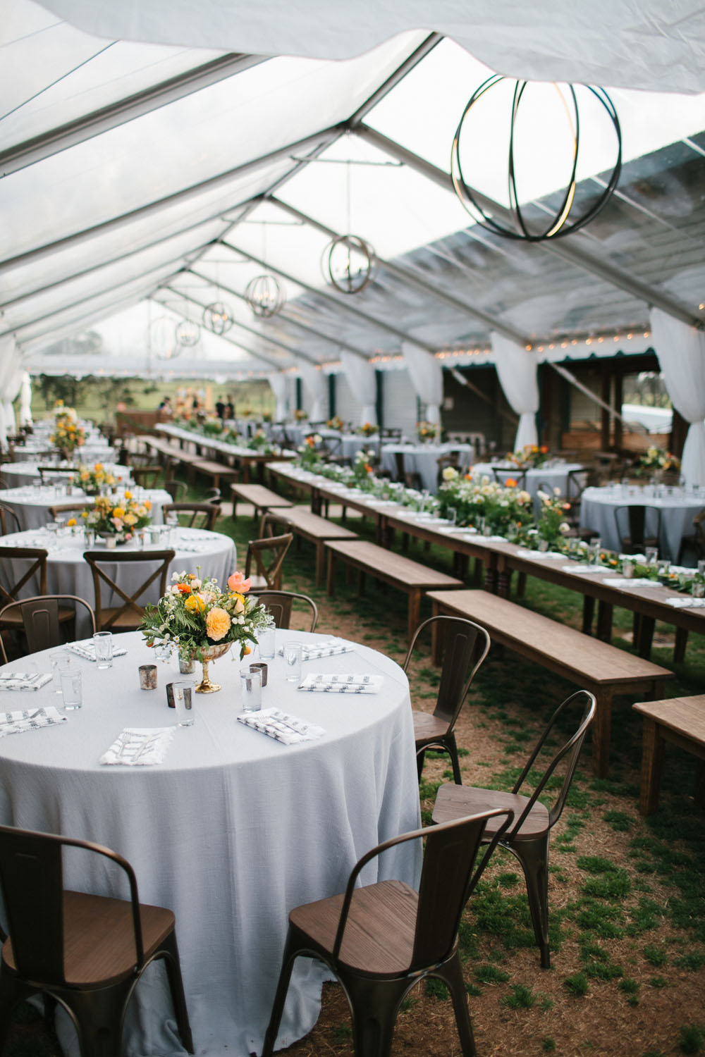 Luxury Clear Tent Wedding In Athens GA Goodwin Events
