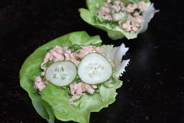 salmon lettuce cup 6