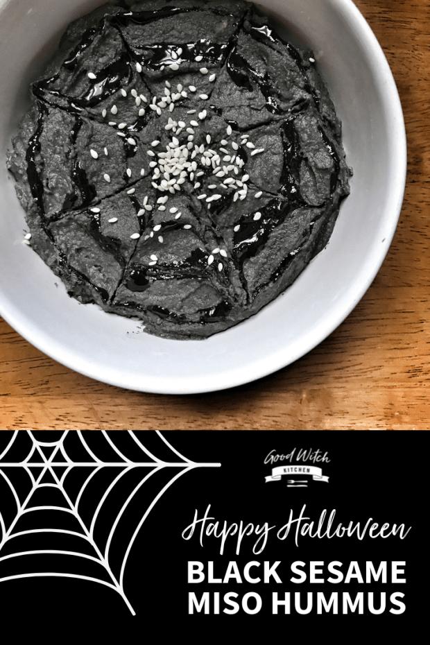 Black Sesame Miso Hummus Pinterest