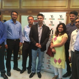 Vishwas Mudagal speaks at CII Young Indians event at Jaipur