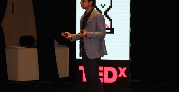 CEO Vishwas Mudagal speaks at TEDx Bangalore