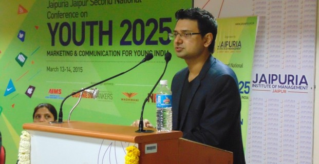 CEO Vishwas Mudagal inaugurated National Youth Conference 2025 at Jaipur