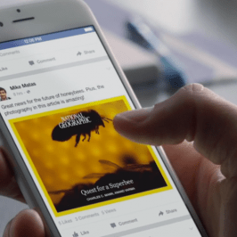 What would the Facebook 'Instant Articles' be able to change?