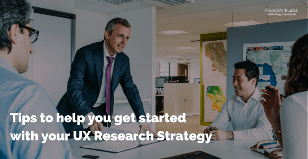 Tips to get you started with your UX user research