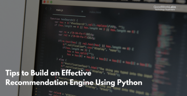 Tips to Build an Effective Web Recommendation Engine Using Python