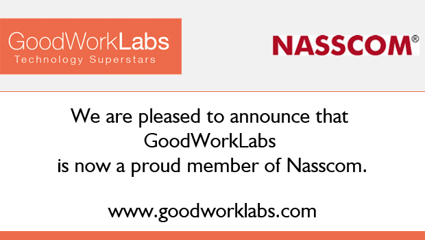 GoodWorkLabs-joins-Nasscom-january2014
