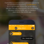 Chat Mobile Application - UX Design