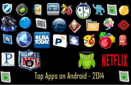Top Android Apps of 2014