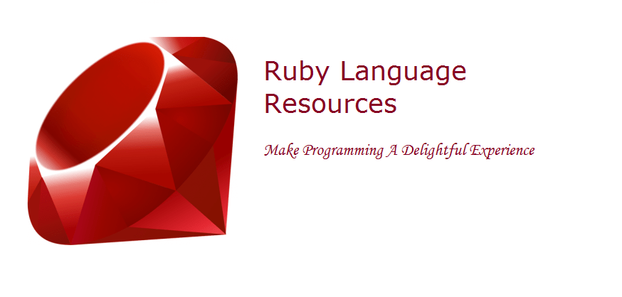 Ruby language resources