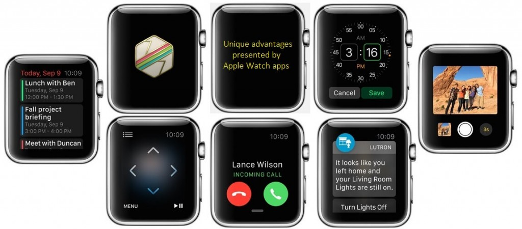 2-5 unique advantages of the Apple Watch App