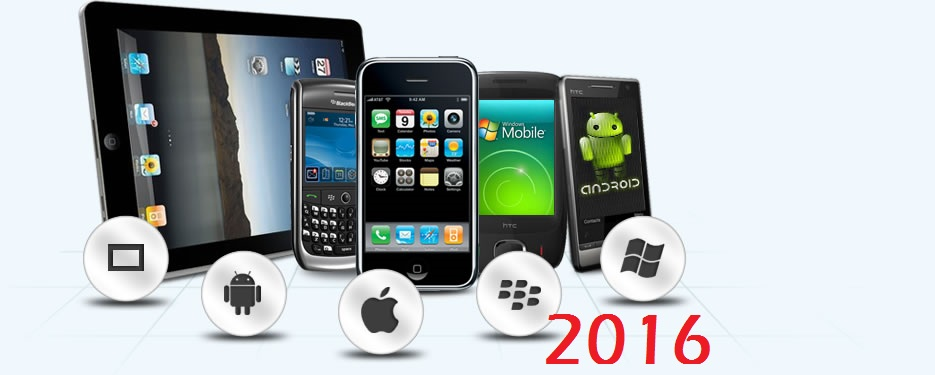 mobile app development in 2016