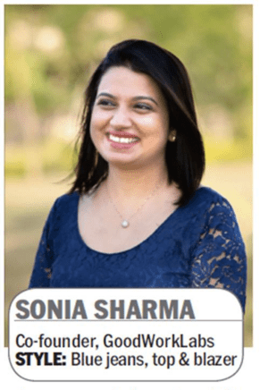 sonia-sharma-goodworklabs-cofounder-bangalore-mirror