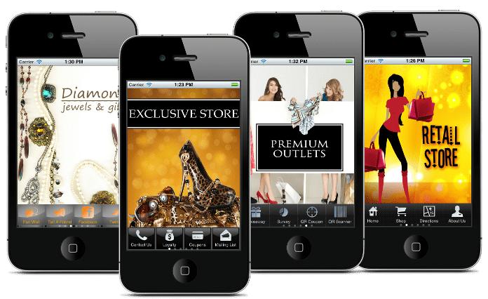 mobile app for retail industry