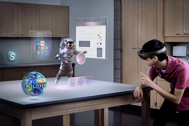 Augmented Reality in business applications