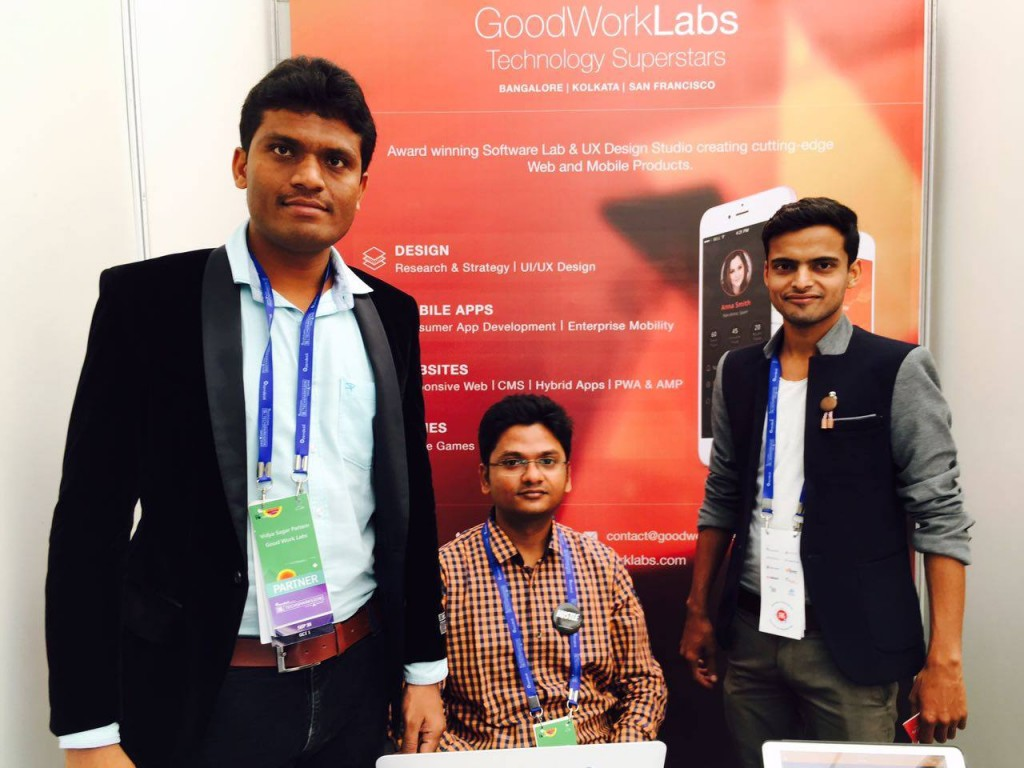 GoodWorkLabs team at Techsparks