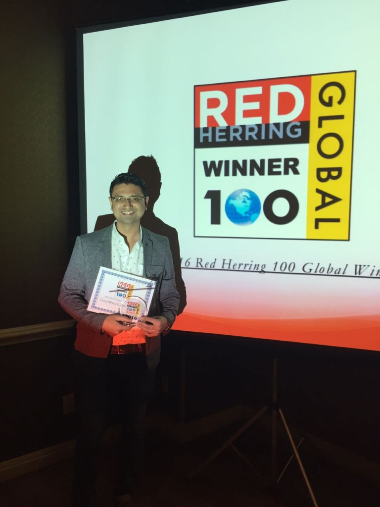 GoodWorkLabs wins Red Herring Award