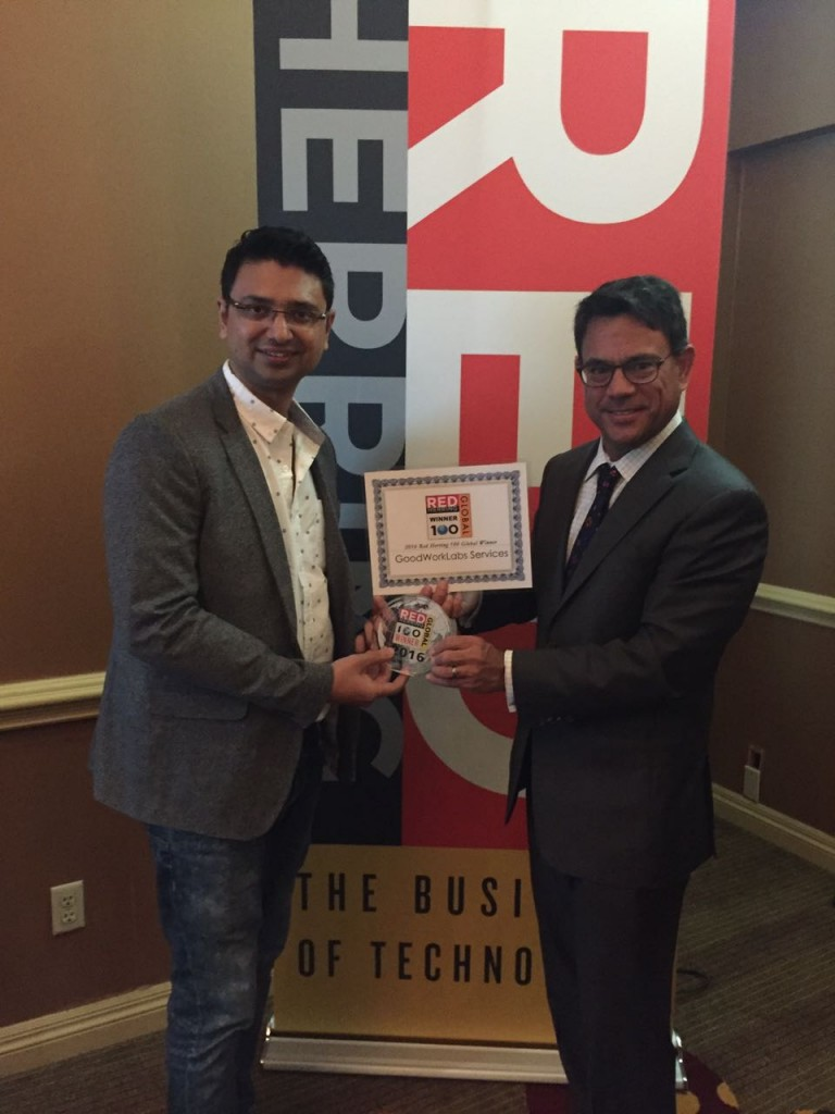 Goodworklabs wins red herring top 100 award