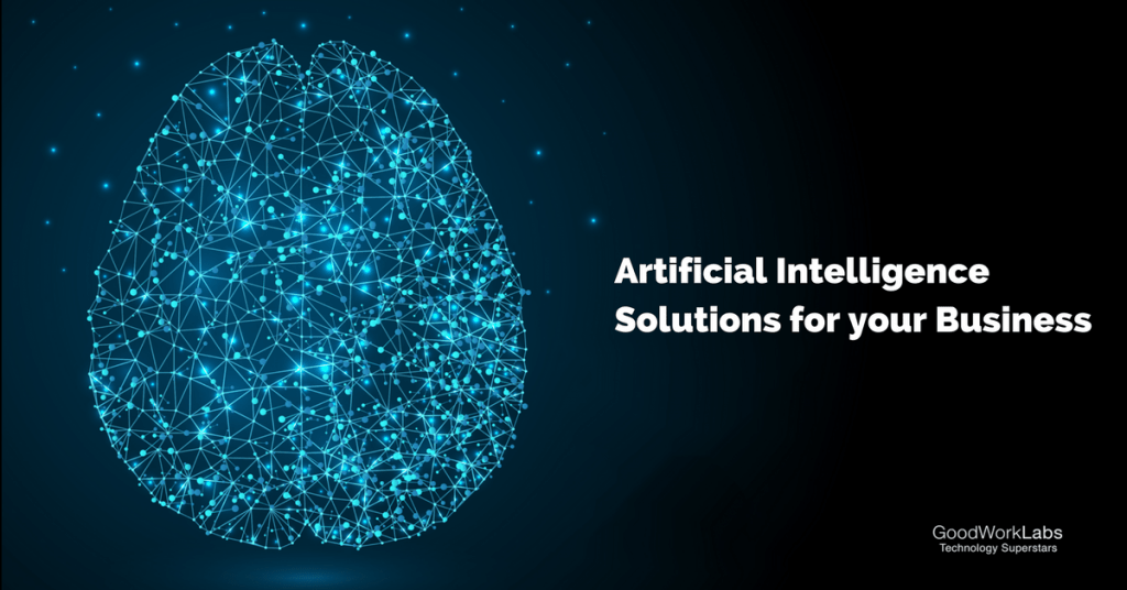 Artificial Intelligence services goodworklabs