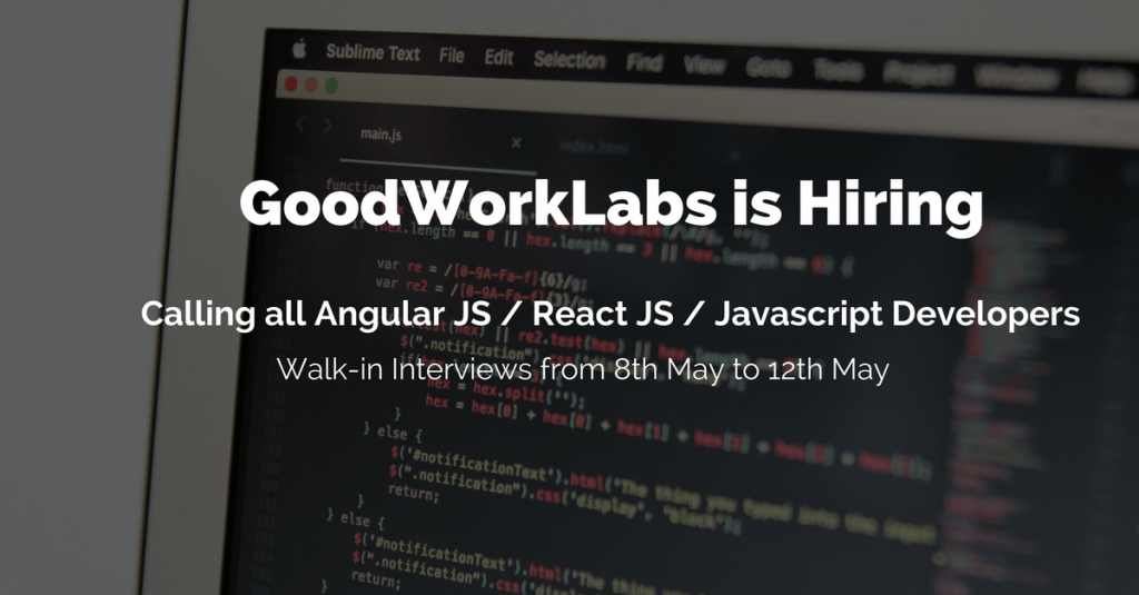 jobs for javascript developers