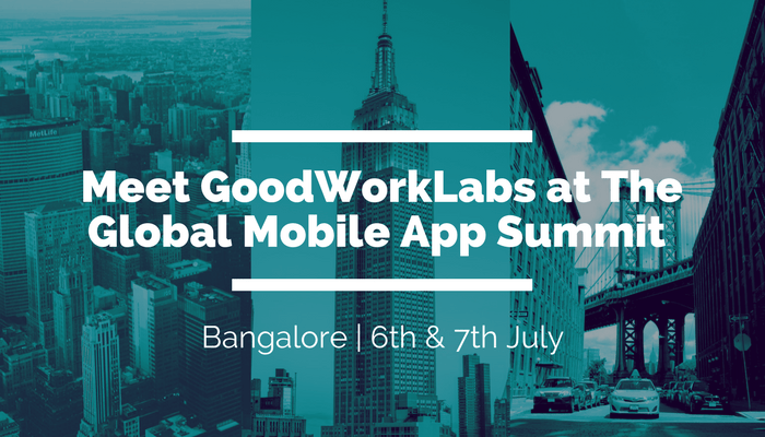 Goodworklabs at GMASA event