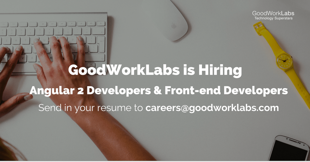 Goodworklabs careers