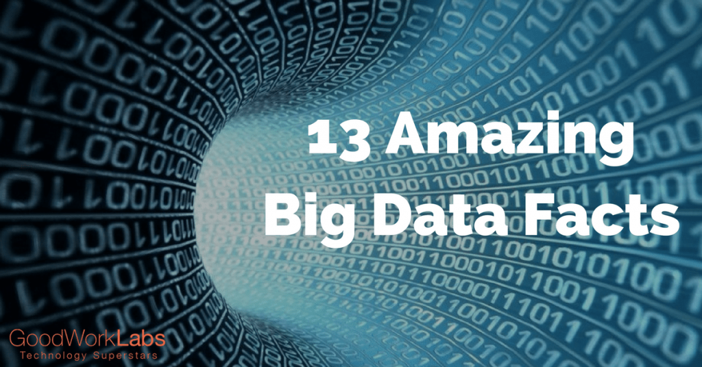 13 AmazingBig Data Facts
