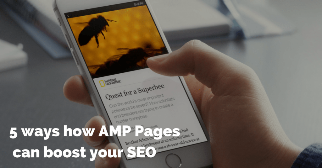 Benefits of AMP pages for SEO