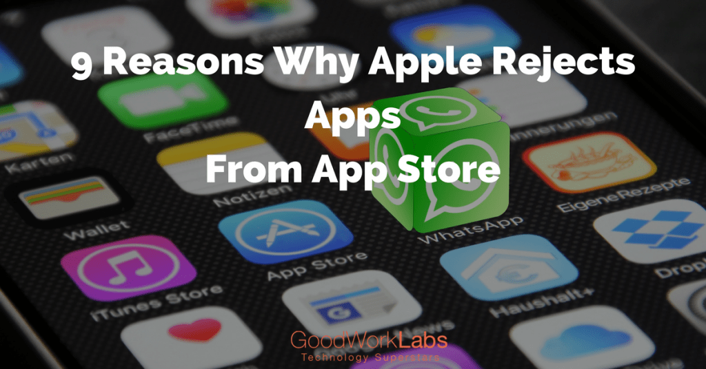 With more than 1 million apps on the App store, entering the app store is not an easy task. Every day hundreds of apps are being pushed into this app store, because of which it might be difficult for your app to get the desired attention. If you want your app to go ahead of the competitors in App Store, you should follow the ground rules and guidelines of the store strictly. iPhone App Development is a serious business and you cannot afford to make mistakes. All the apps submitted on app store undergo a strict review process. There is a task of passing the mobile app on Apple's rigorous 114 standard regulations on how the app should be and reflect the company image. Apple released a list of common reasons why an app is rejected on app store to help developers to create the best app. Before you develop app on any particular platform, it is must to become familiar with the technical aspects of designing a mobile app. Here we have highlighted some common issues and reasons why Apple rejects any mobile app. Go through the most obvious reasons why your app gets rejected at Apple App store. 1. Inaccurate descriptions Your app description plays a very important role in understanding the app. The descriptions and screenshots convey app functionality clearly. This will not only help users understand your app, but makes a positive impact on App store. While developing the app, developers should make sure that the description is as to the point and is as accurate as possible. The app should not be advertised as something it is not supposed to be. Avoid misleading the market as Apple will not allow your app for consumption if it is found to be something it is not. 2. Long loading time All the mobile operating systems, especially iOS and Android enforce a maximum startup time. The limit for iOS is about 15 seconds, and if the app is not running as per standards of iOS --- it is likely to be killed by the OS. Even though your app loads in time during local testing --- it may slow down due to slower hardware, slower network connections and other reasons. To overcome this problem, test the app on accrual hardware, rather than relying only on iOS simulator. Keep a set of old phones around to ensure that all the users experience a good loading time. The loading time of the app is the first thing that helps you impress the users. 3. Crashes that arise from denying permissions Most of the apps ask permission to access the contacts, gallery, address book, Twitter, Facebook, Reminder and other services in the device. If the user chooses to deny access to any of these services, the app crashes. Apple requires the app to continue to function even if the user denies permission. This is usually tested during validation and will be an automatic rejection, if fails to work properly. The app developer should test all the combinations of allow and deny before launching it in the app store. 4. Improper usage of storage Apple rejects the apps for another reason that is related to storage. App developers often make the mistake of ignoring this, as a result of which the app may not be able to use storage space effectively. After the release of iOS 5.1, Apple rejected the app because the apps tend to bundle into filesystem –violating the cloud backup. According to the guidelines of Apple - any data that can be regenerated should not be backed up, because it can be easily downloaded from the server. The app should have a 'do not backup' option to get selected on App store. 5. Advertisement identifier When app developers submit their app for review, they will be asked whether the app uses advertising identifier to serve the advertisements or not. If you indicate that the app uses advertising identifier and do not have display ads properly, the app may be rejected. Make sure to test the app on iOS device to check if the ads work correctly. The app will be put in 'Invalid Binary' --- if the app does use advertising identifier, and the developer indicates that the app does not use advertisement identifier. 6. Misuse of logos App developers make the mistake of using Apple logo or trademark in the app or product image. Whether it is Apple icon or drawing of an iPhone in the app, it is considered to violate the rules of app store. Apple also denies the apps that have trademarks in the keyword of the app. To overcome this issue, mobile app developers should make sure that the app does not obscure attribution information in any embedded maps. Else, it will result in automatic rejection. 7. Too complicated Apps are considered as readily available entertainment services that can be accessed easily. Users do not likely to go through dozens of screens to achieve what they want from your app. Apple rejects those apps that lack navigation and are complicated. If you want the app to be accepted by Apple, ensure that the navigation and function is made as simple as possible. If you are entering Apple App Store, it is expected that the app runs fluidly with the operating system. Customers prefer a consistent and sleek transition from the home screen to the app. Make the journey between 'Homescreen' to other pages as smooth as possible. Customers do not want to wait for years to open the app. Optimization is the key to make sure that the app is smart and responsive. 8. App resembles an app on app store Copying and imitating other app on the App Store is one of the biggest mistakes app developers make. We have seen many imitation apps, and Apple too has many similar apps. Apple will reject copies of such apps if there are already too many such apps. With more than a million apps on Apple App Store, we don't need any more copycat apps. If your app lacks originality and uniqueness, Apple may reject the app without any second thought. This is one of the biggest reasons why Apple rejects any mobile app. 9. Link to other payment schemes Apple wants all the digital content to be sold through iTunes in-app purchase mechanism. If your app is linked to other payment schemes and accepts other payment for digital content, you can be sure that the app will be rejected by Apple. This rule is applicable to even the webpages that are linked from your app. Before you launch the app on Apple App store, make sure that all the purchasing goes through user's iTunes account. However, this rule is not applicable to merchandise and non-digital content. Don't panic, if the app gets rejected by Apple. There is an expedited review process that can be used for critical bug fixes and addressing security issues. However, remember that developers who overuse this feature will be barred from using it in future.