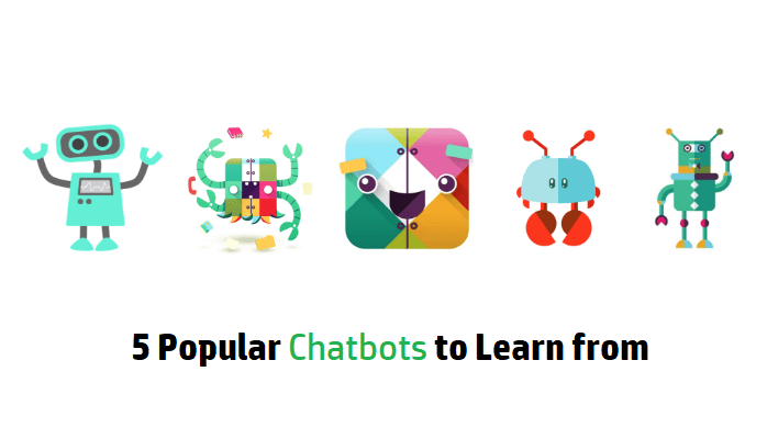 5 Popular ChatBots To Learn From